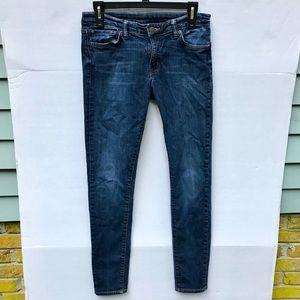 Ralph Lauren Dark Wash Skinny Jeans Size 29/32
